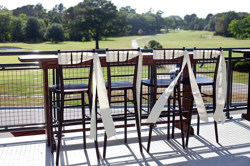 Snee Farm Clubhouse Balcony
