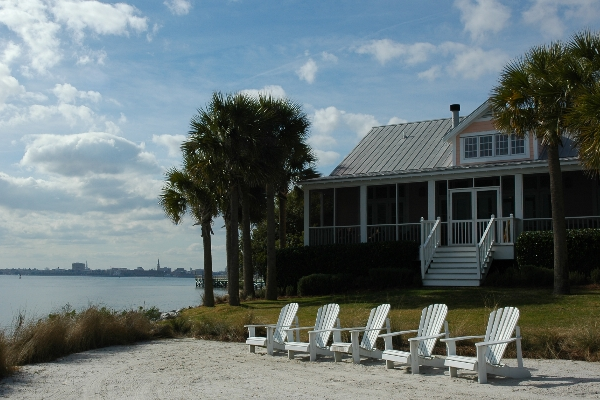 Waterfront Wedding Venue in Charleston - Cottages on Charleston Harbor