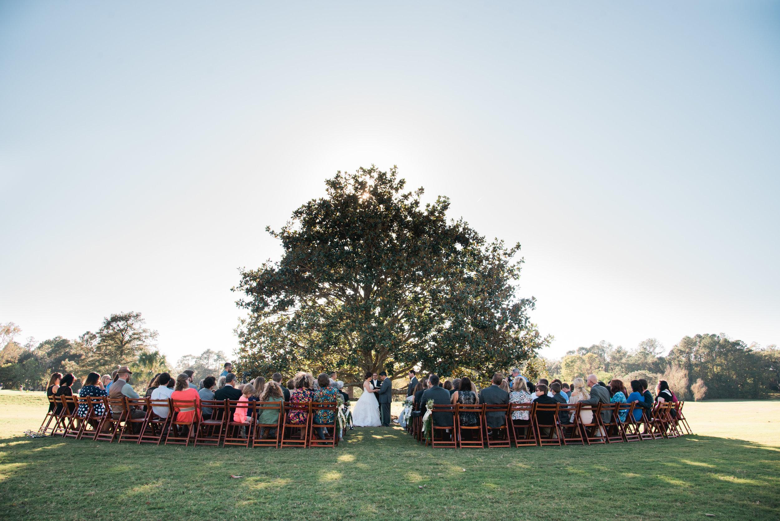 Snee Farm Wedding Ceremony