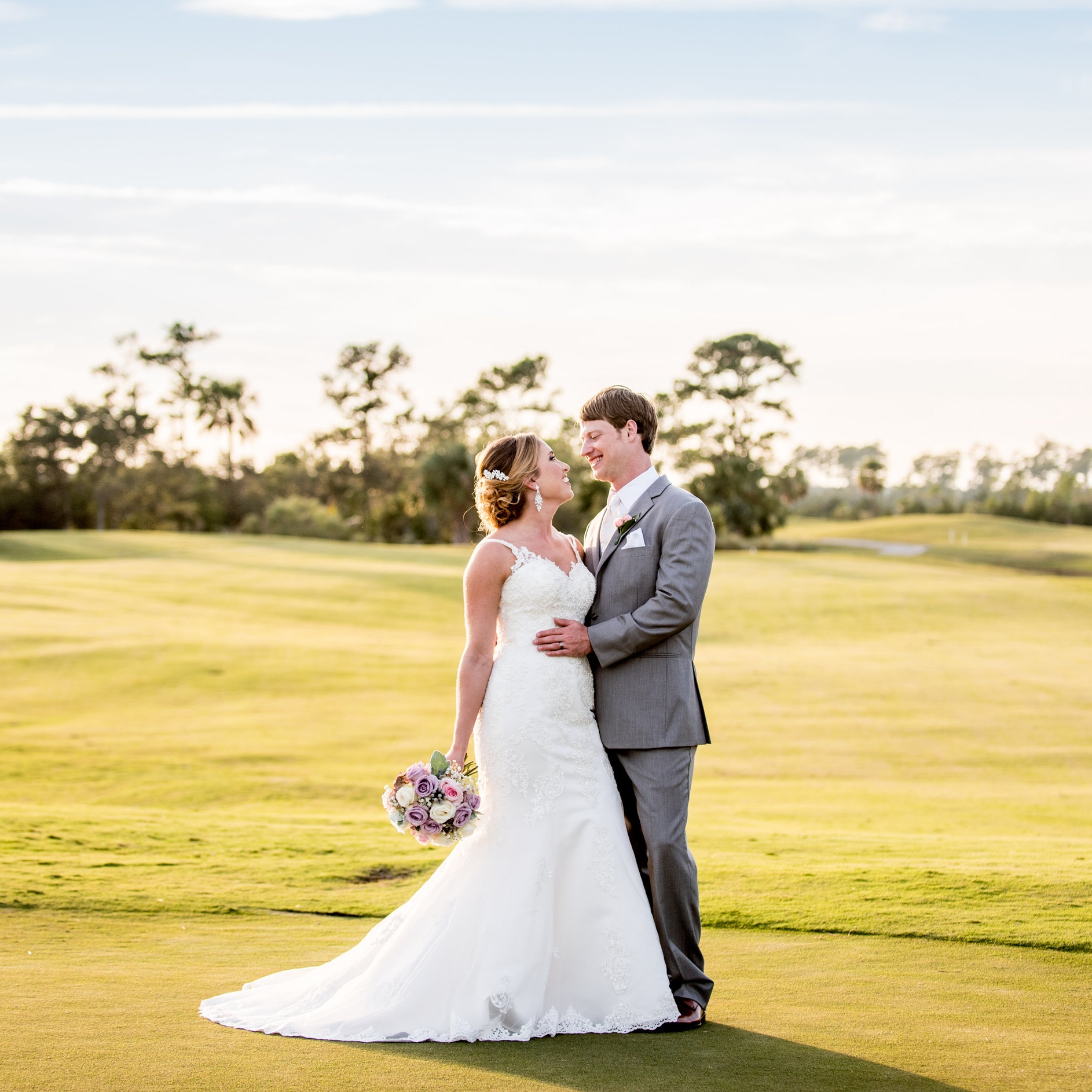 Photos by   Dandy Mae Photography  , taken at RiverTowne Country Club.