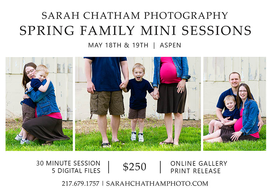 Sarah Chatham Photography Family Photography Mini Sessions in Aspen CO