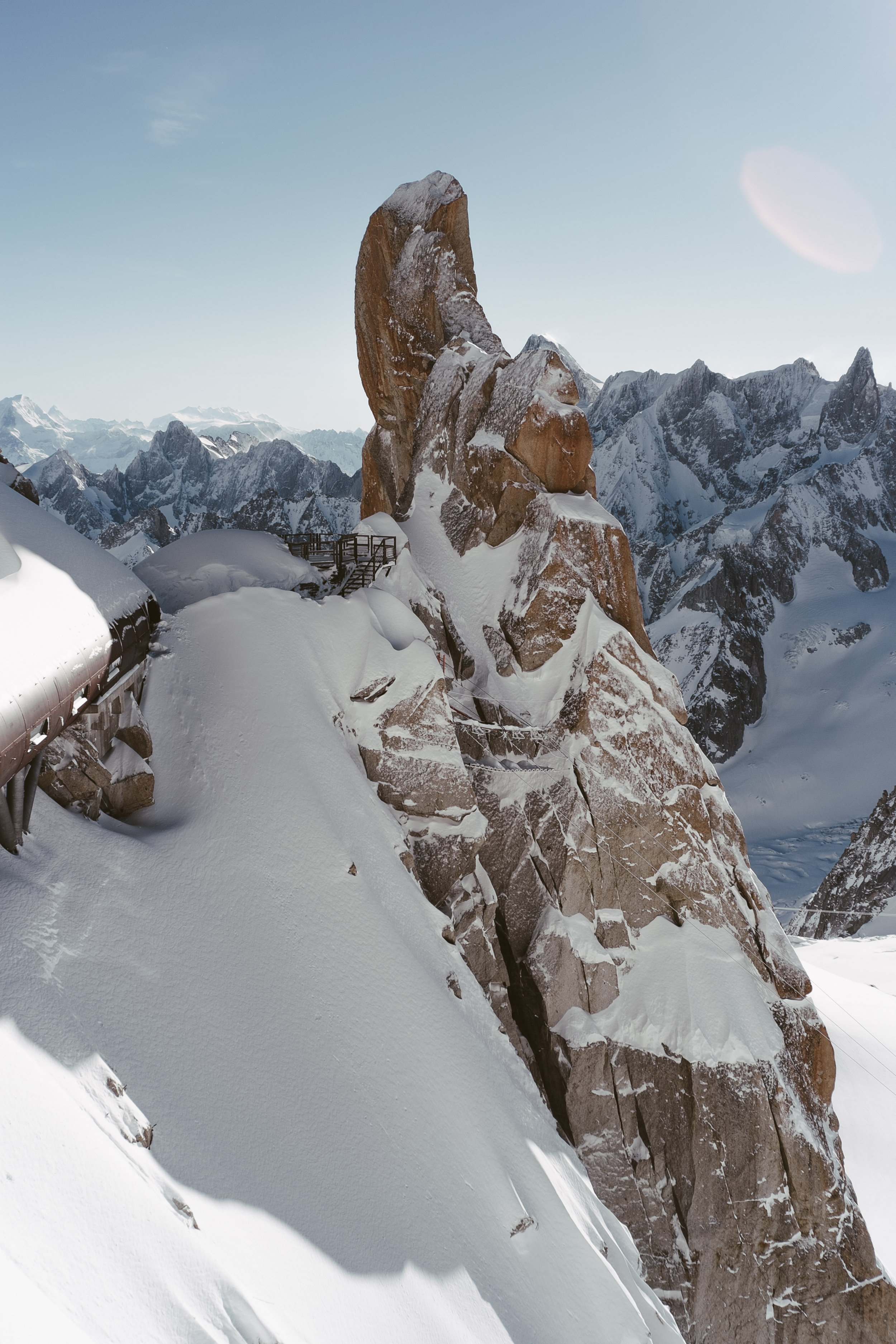 L'Aiguille du Midi, Chamonix, 2017.