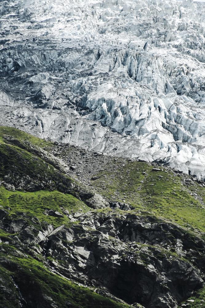 glacier de bionnassay et sa moraine, saint-gervais (haute-savoie, france). page 22