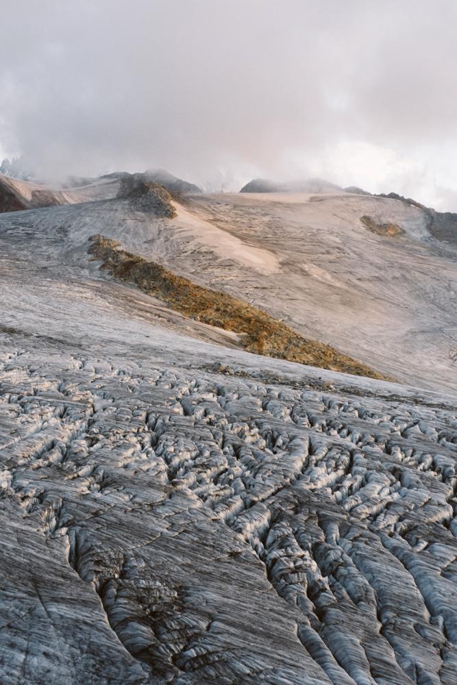 Glacier du Tour depuis le refuge Albert 1er, Chamonix (haute-savoie, france). page 49