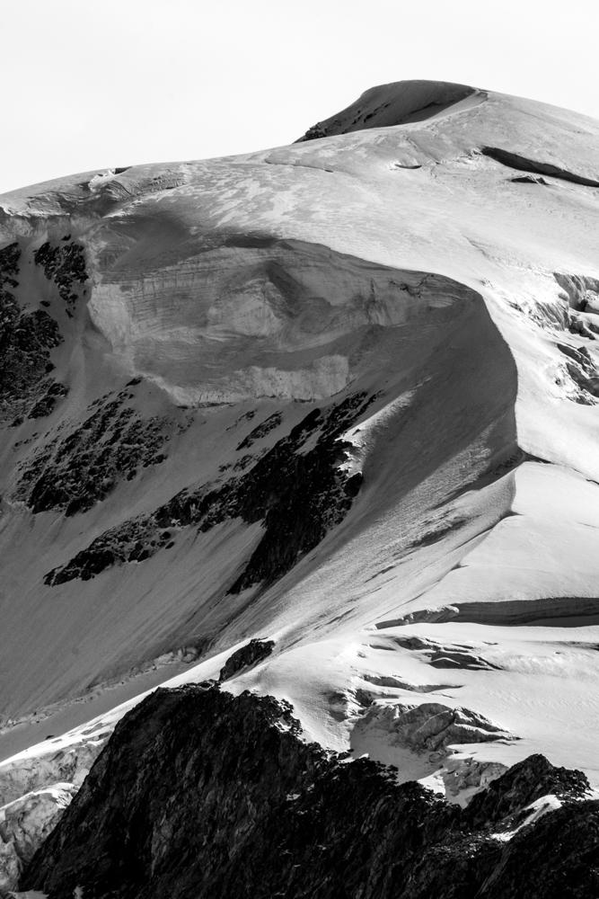 Crête sommitale du Mont-Blanc, Chamonix (haute-savoie, france). Page 67