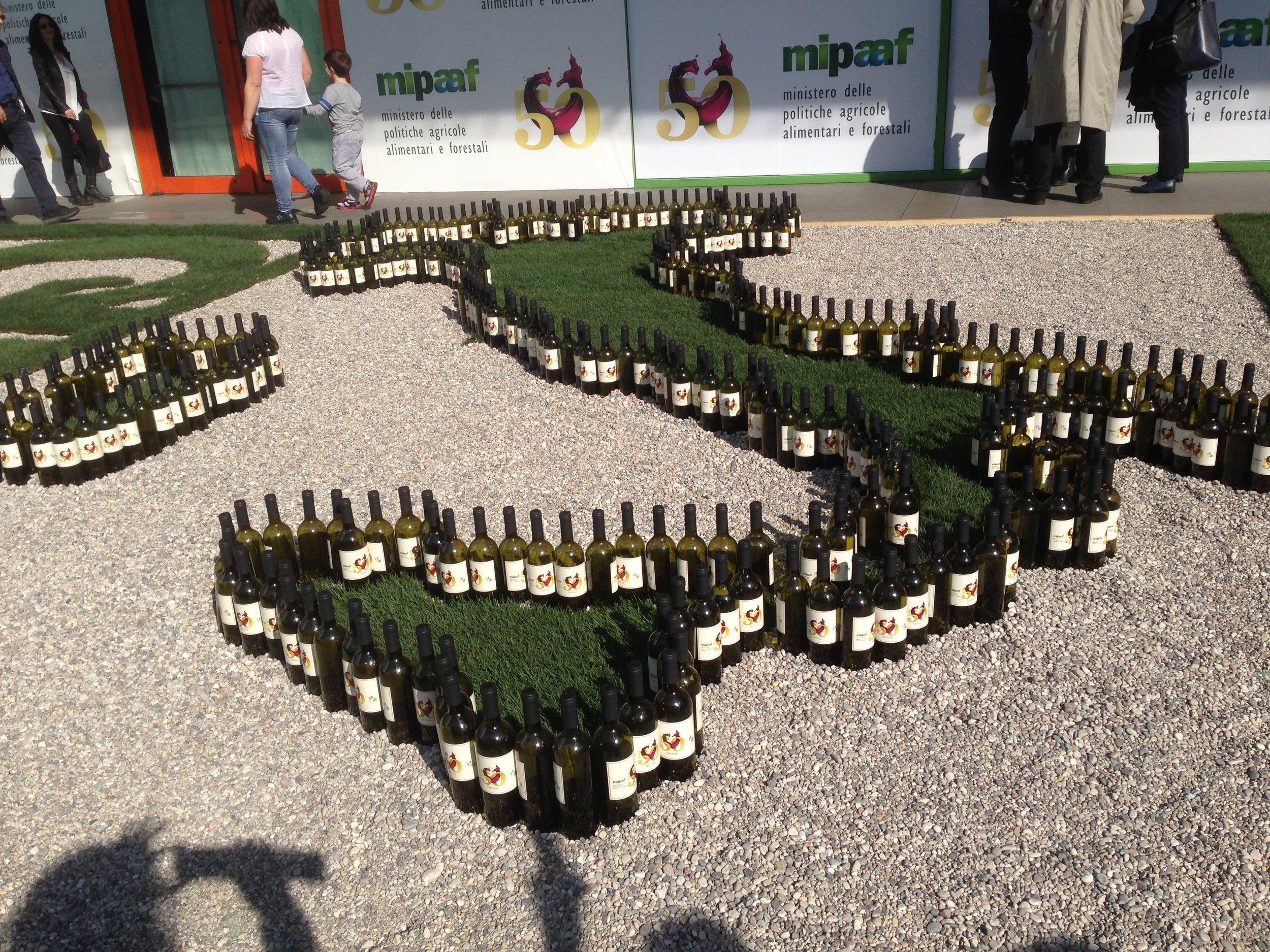 Vinitaly, un pezzo importante di storia del vino italiano