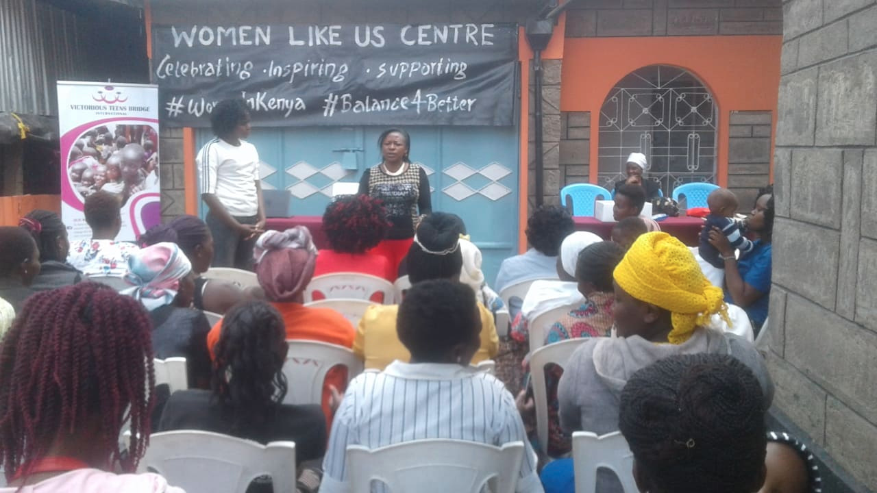 A workshop day at Women Like Us Center
