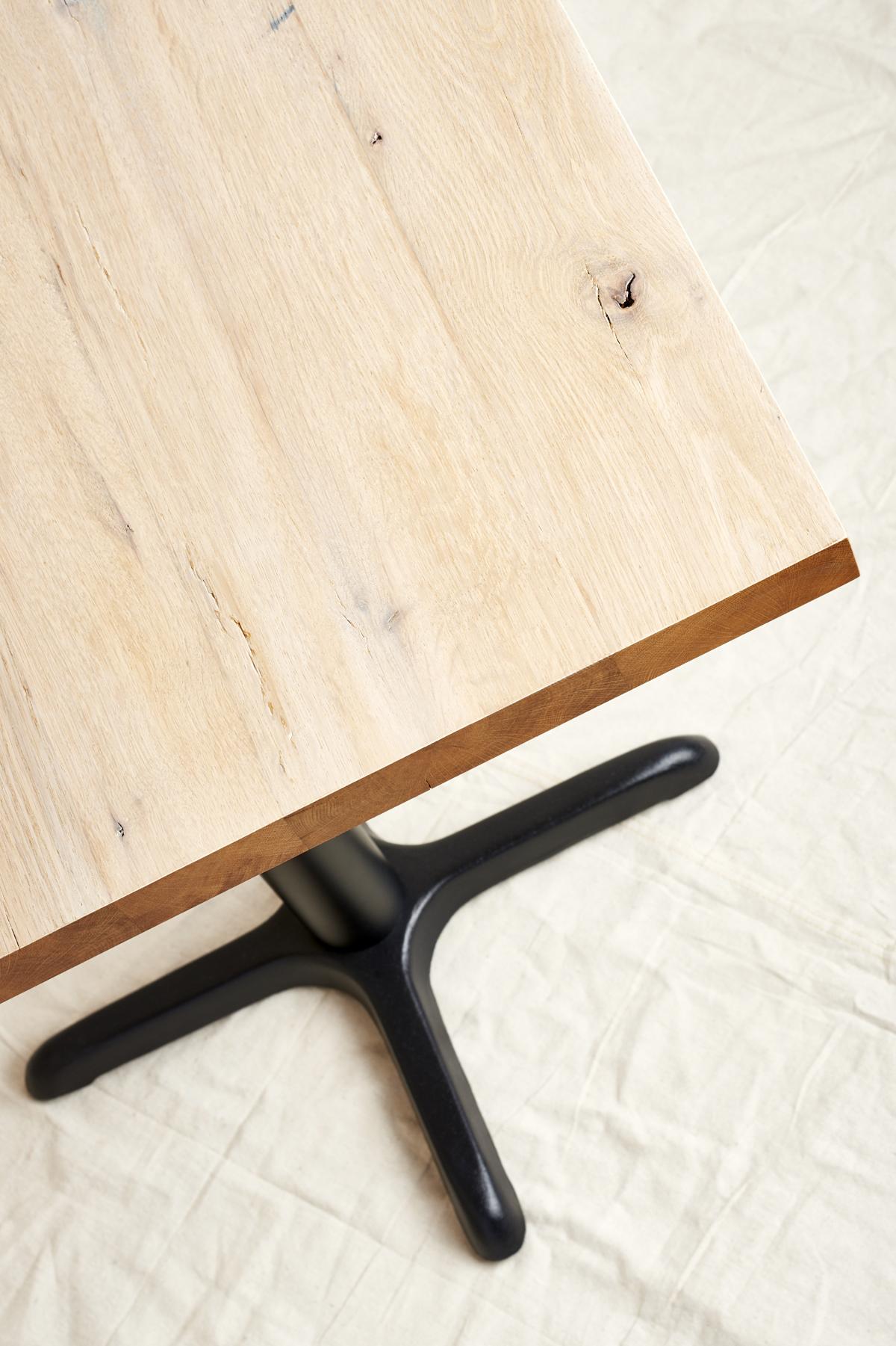 custom reclaimed oak table