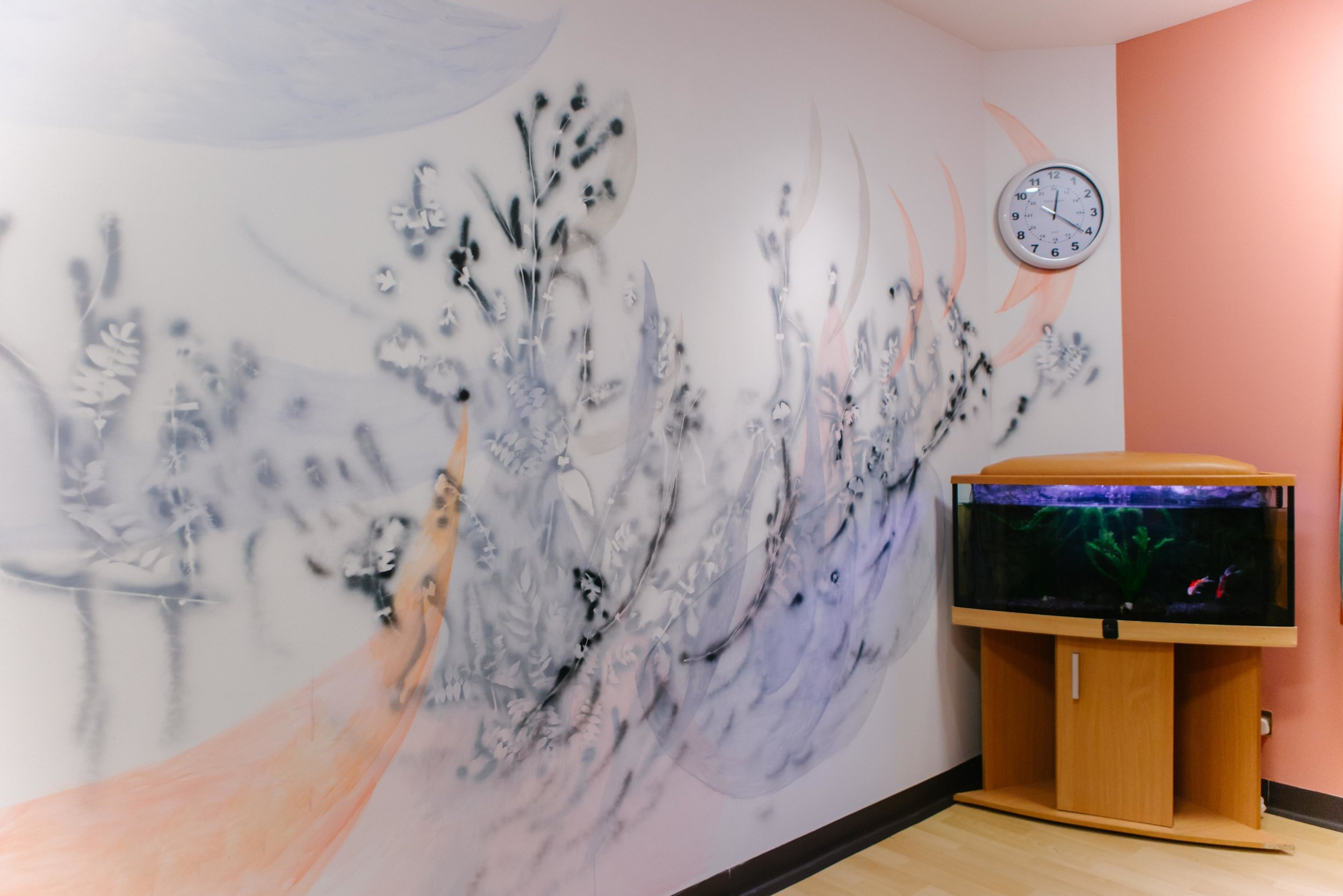 Aimee Parrott - Quiet Room, Garnet Ward, Highgate Mental Health Centre