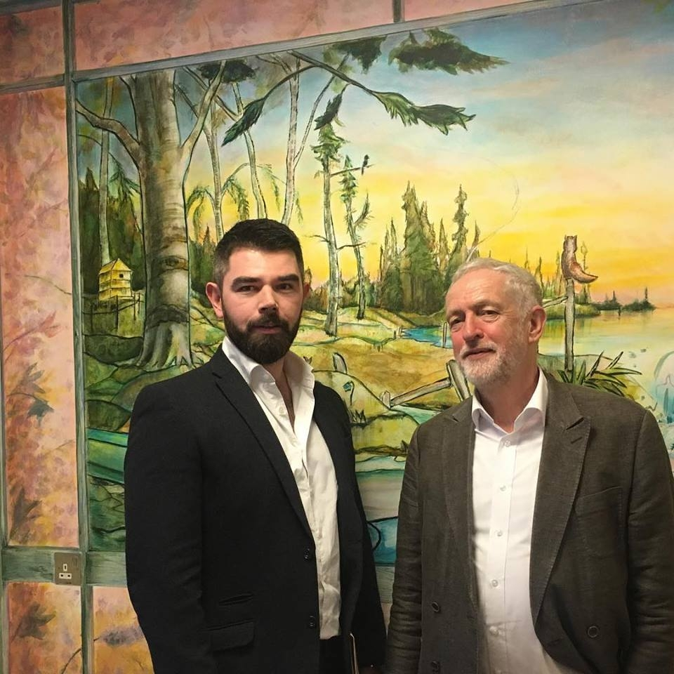 'Projects like this are crucial in showing that people with dementia are creative and imaginative, and art equips them with the tools to explore this.' - Jeremy Corbyn, Leader of the Labour Party visited the Garnet Ward in January 2018