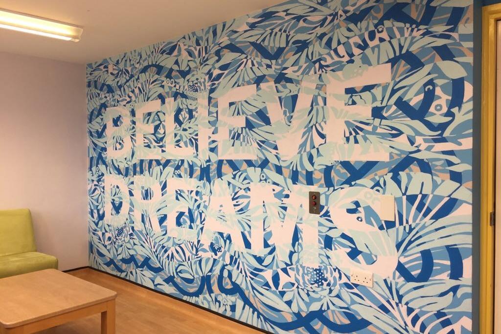 Mark Titchner - Family Room, Snowsfields Adolescent Unit, Maudsley Hospital