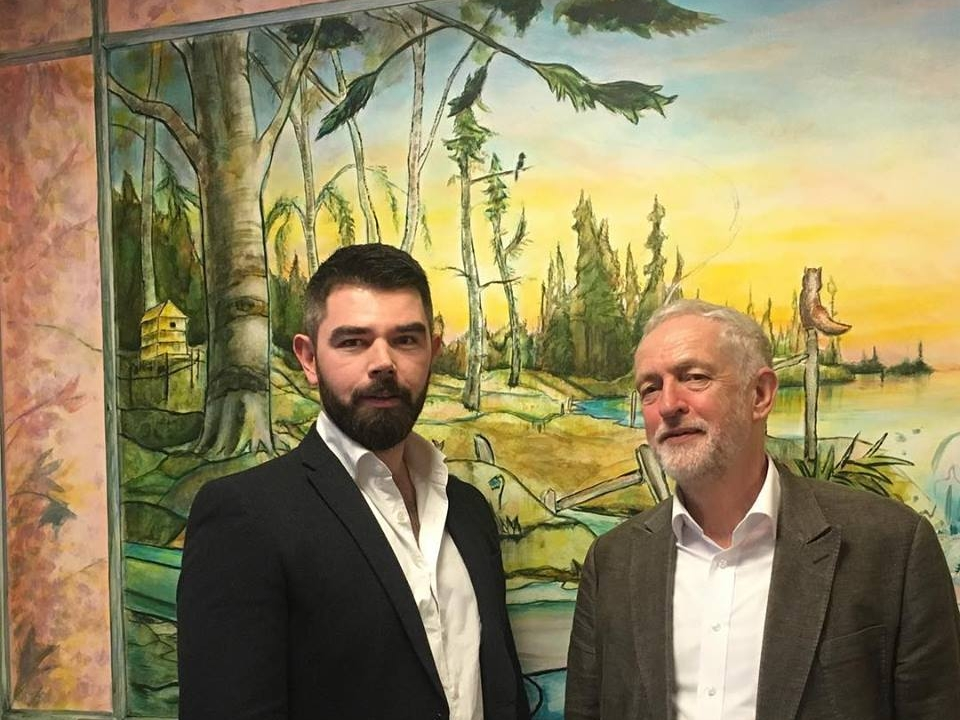 Jeremy Corbyn visits our project at the Garnet Ward, which provides care for older people with dementia and other challenges -