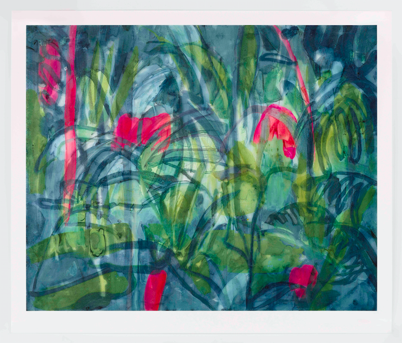 Tamsin Relly's limited edition print 'Pink Shadow' is now available to purchase in aid of Hospital Rooms -