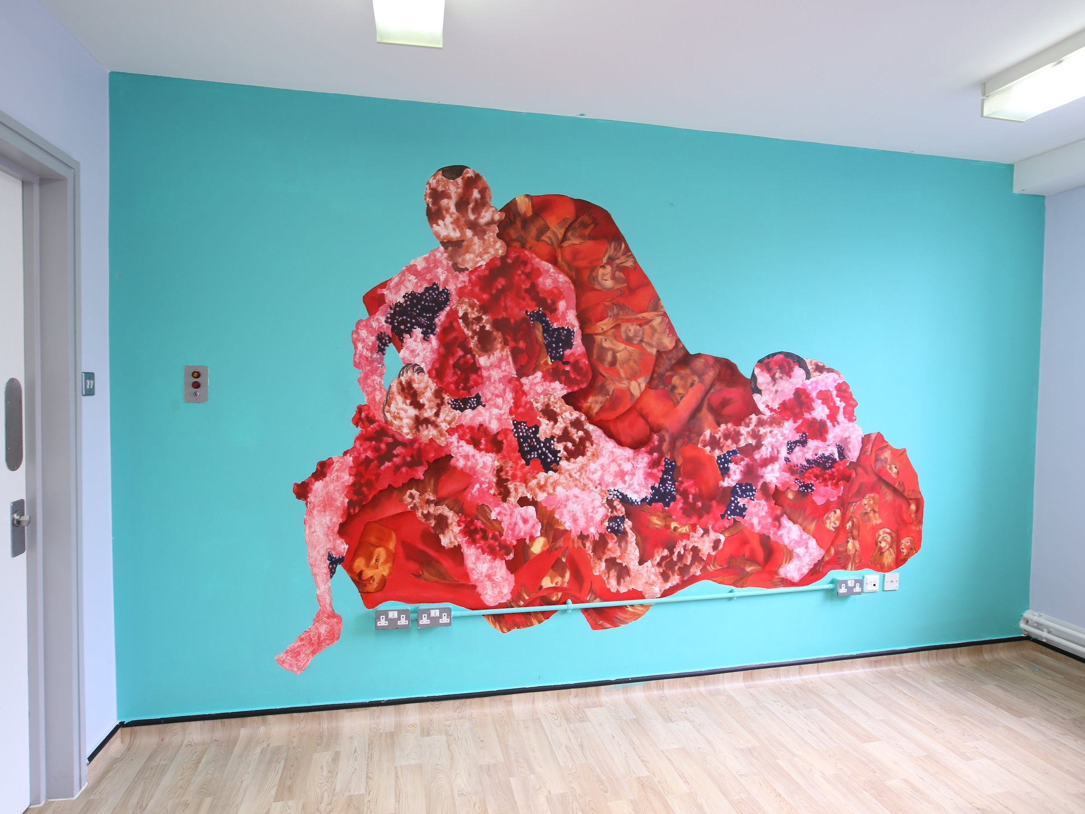 Eileen Skellern 1 and Hospital Rooms exhibition at Griffin Gallery in London -