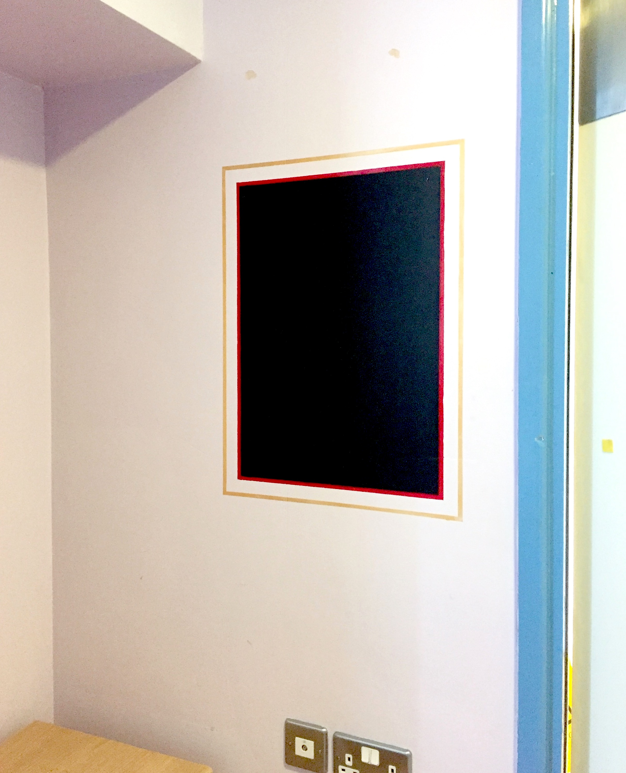 - This simple intervention acts as an encouragement to the young people to explore their own artistic identity, and offers a private space to vent thoughts and feelings. In the otherwise neutral uniformity of the hospital bedroom, designed predominantly with clinical needs and risk reduction in mind, which patients have limited freedom to personalise, the blackboards provide a means for individuals to take ownership of the space and mark it as their own for the duration of their treatment.We believe that within the restrictive enclosed setting of an inpatient unit opportunities for free creative self-expression are crucial,providing a means to help one manage the challenges of living in such environment and potentially playing a key role in the process of healing and recovery.