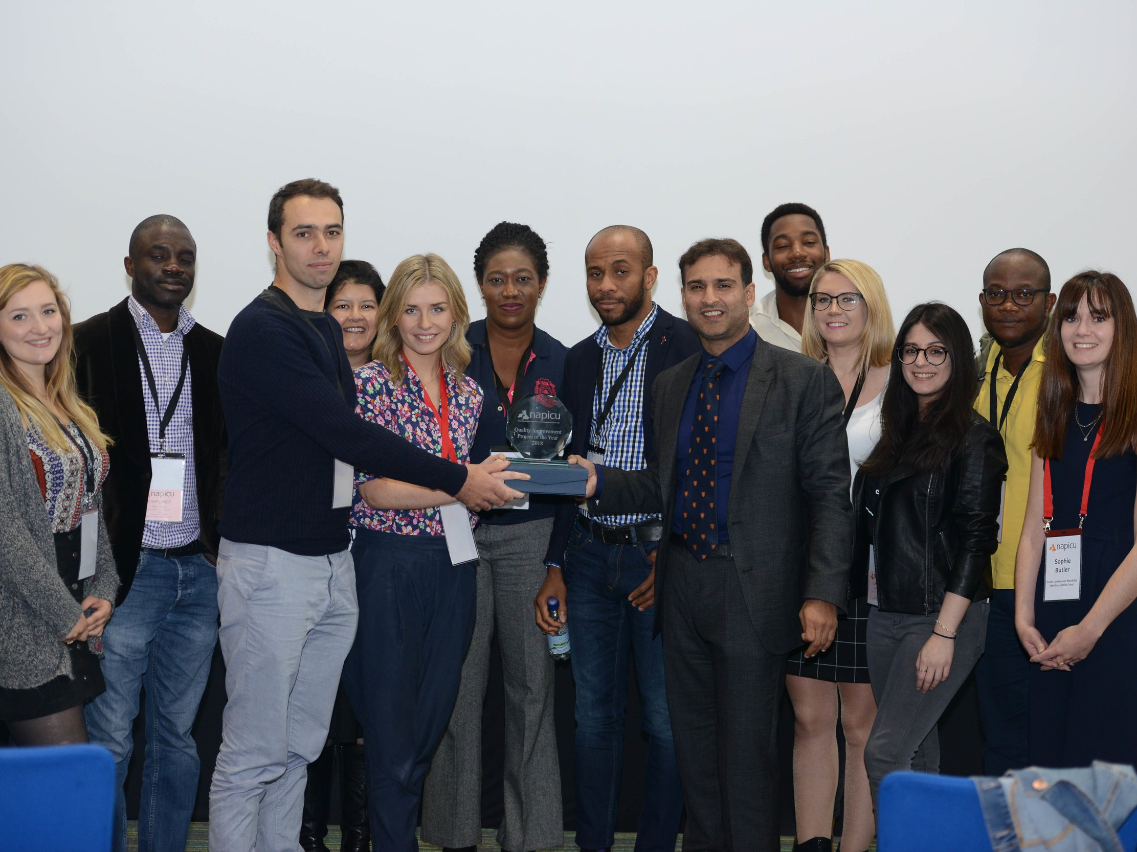 Hospital Rooms and Eileen Skellern 1 win the Quality Improvement Project of the Year 2018 from the National Association of Psychiatric Intensive Care Units -