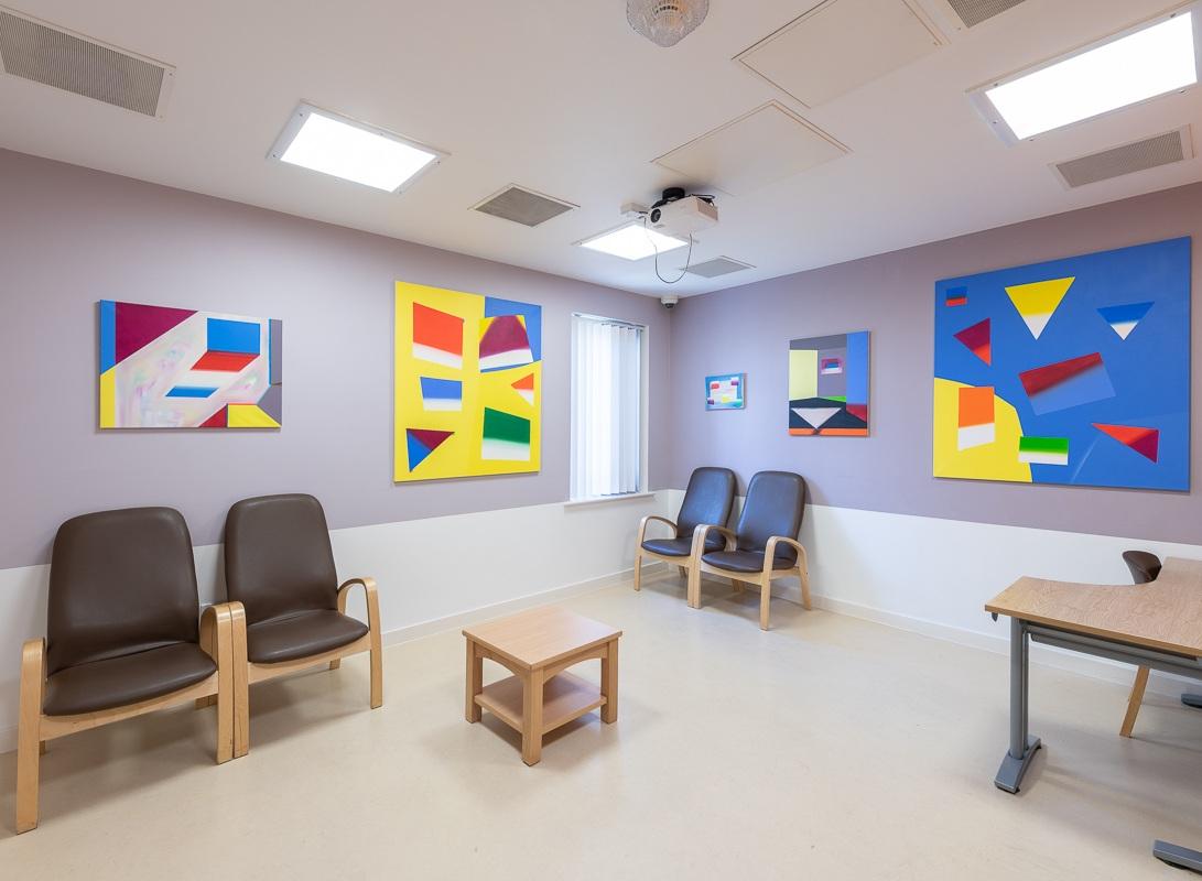Nancy Milner - Review Room, Lark Ward, Woodlands, NSFT