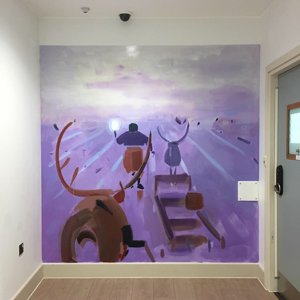 Susie Hamilton - The Junipers PICU - Mens Corridor