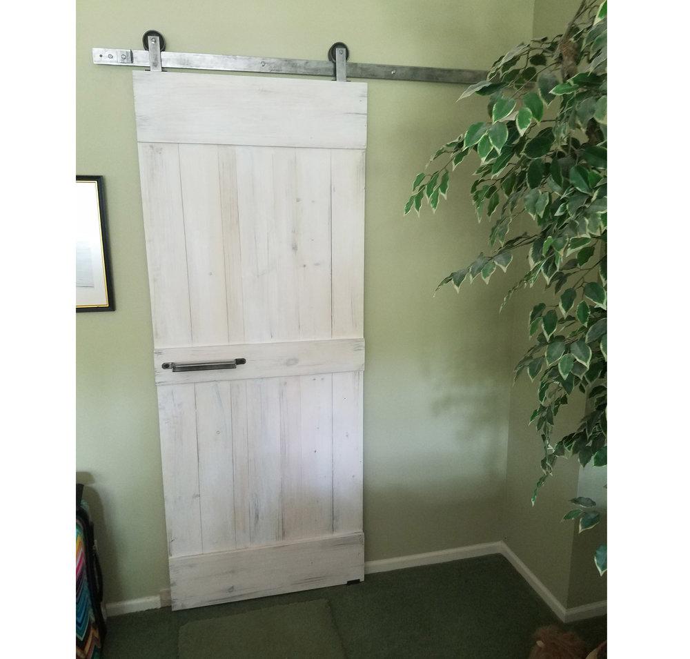 Top Mount Barn Door Hardware Kit