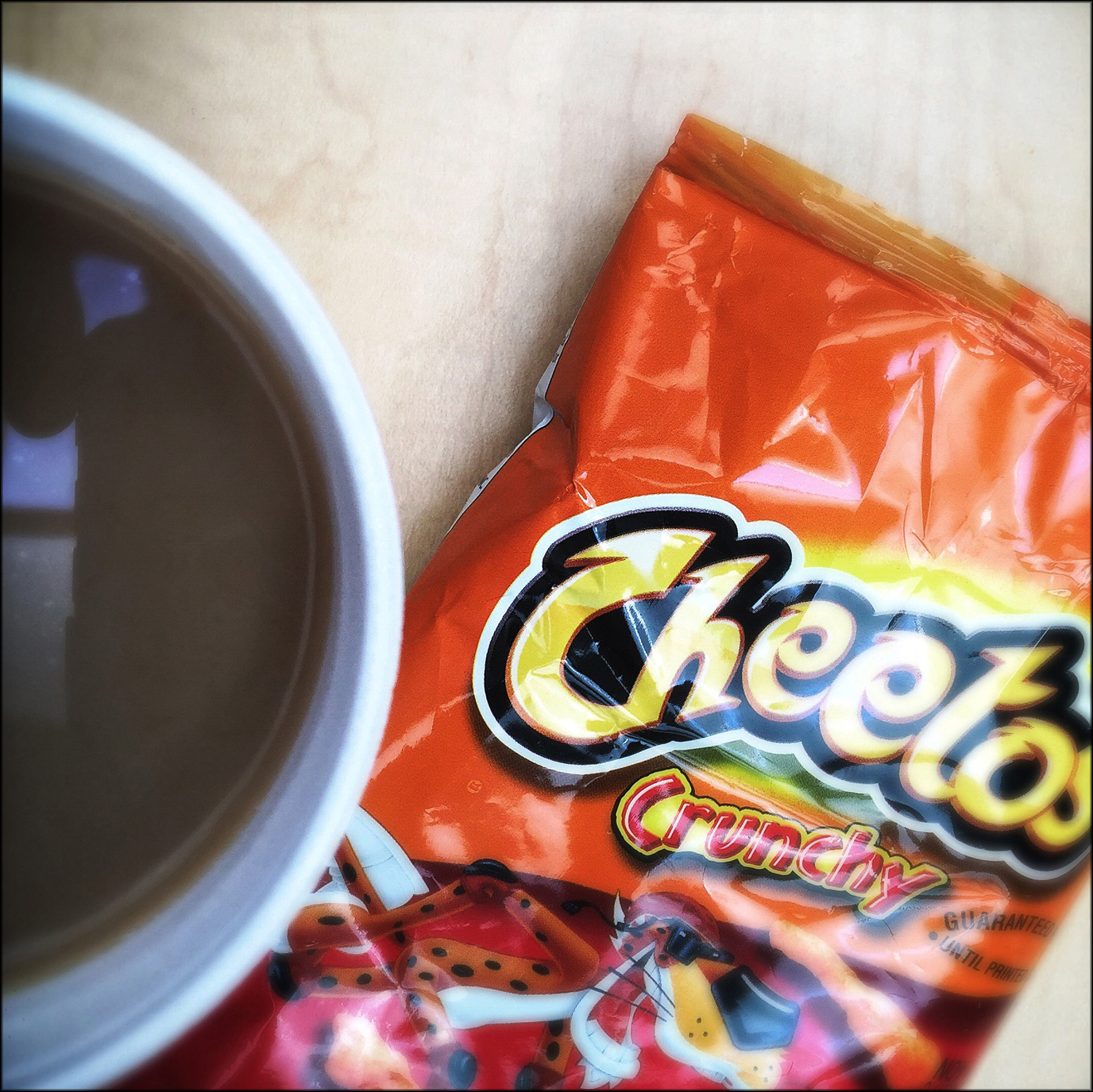 2016 Chicago, Coffee and Cheetos