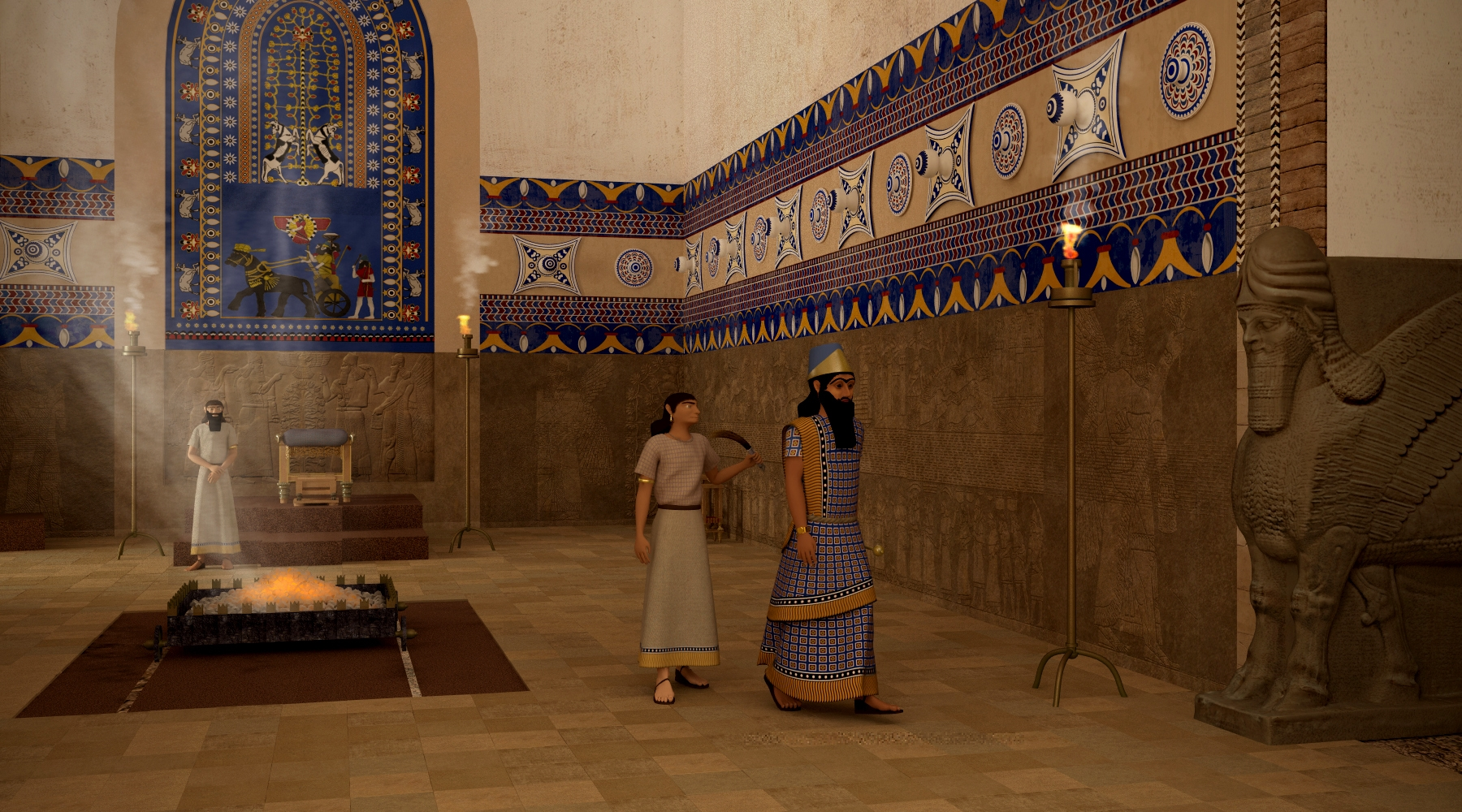 Nimrud Rising  An immersive virtual reality recreation of the lost Assyrian site of Nimrud