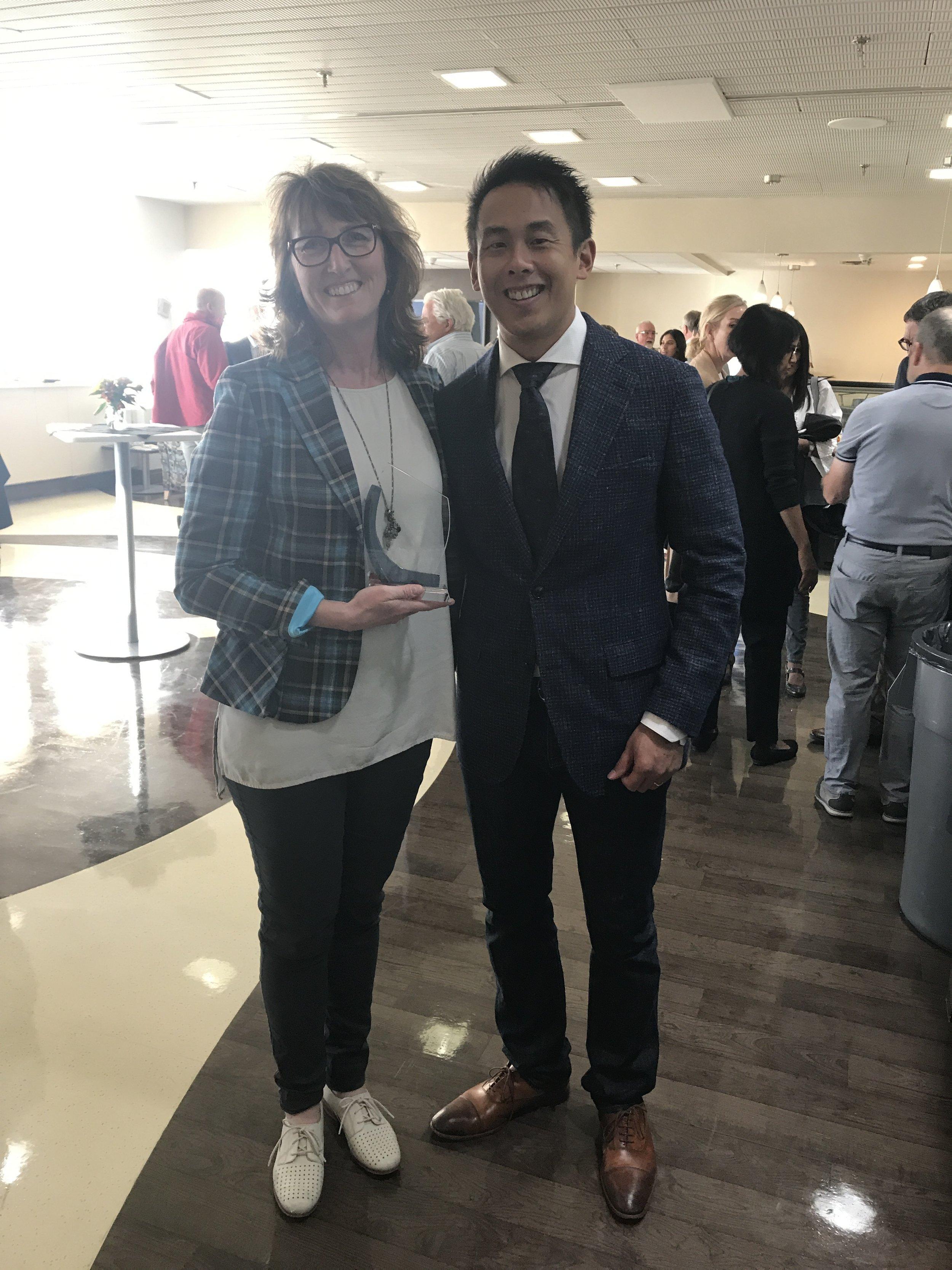 Dr. Philippa Brain & Dr. Trevor Chan