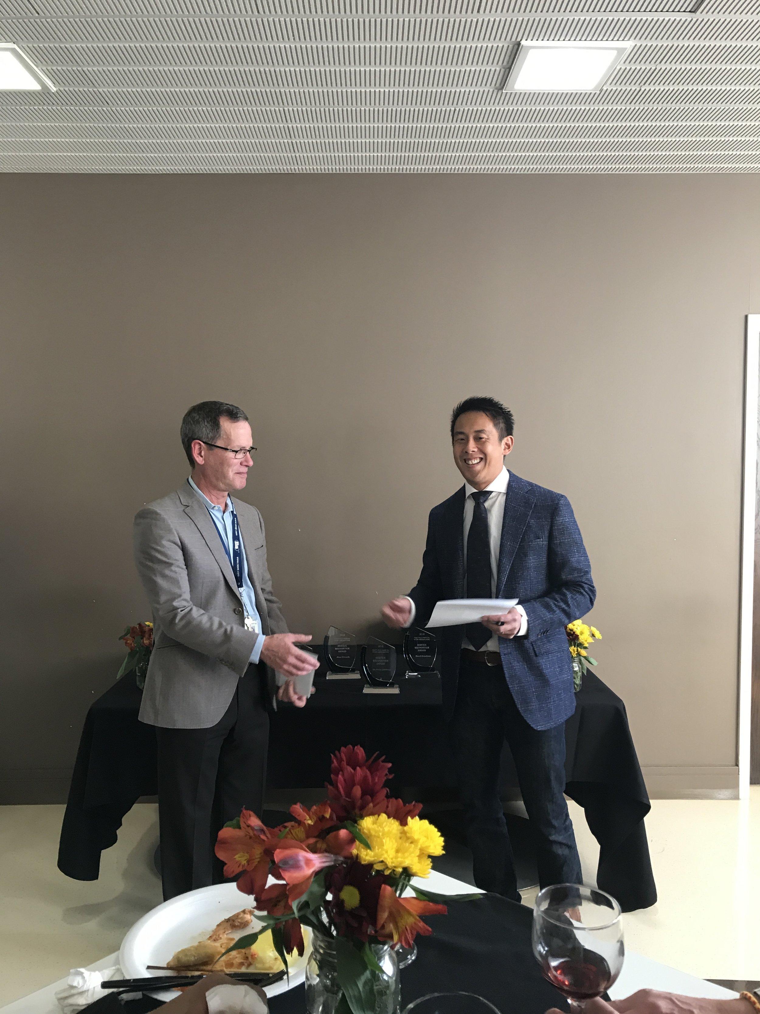 Dr. Joel Fox & Dr. Trevor Chan
