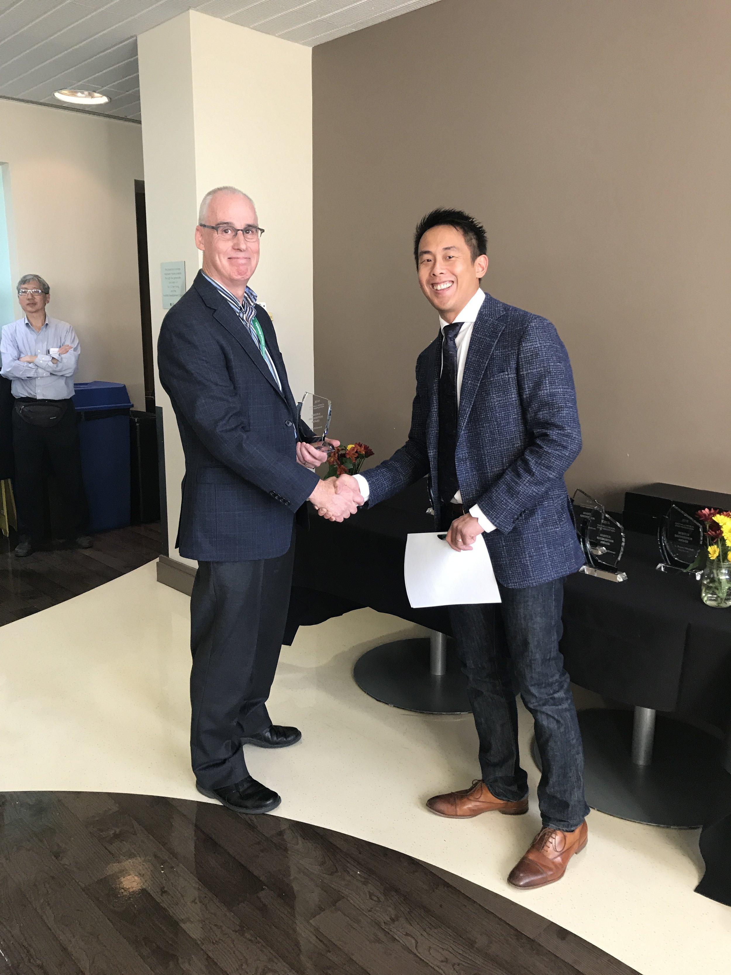 Dr. Alun Edwards & Dr. Trevor Chan