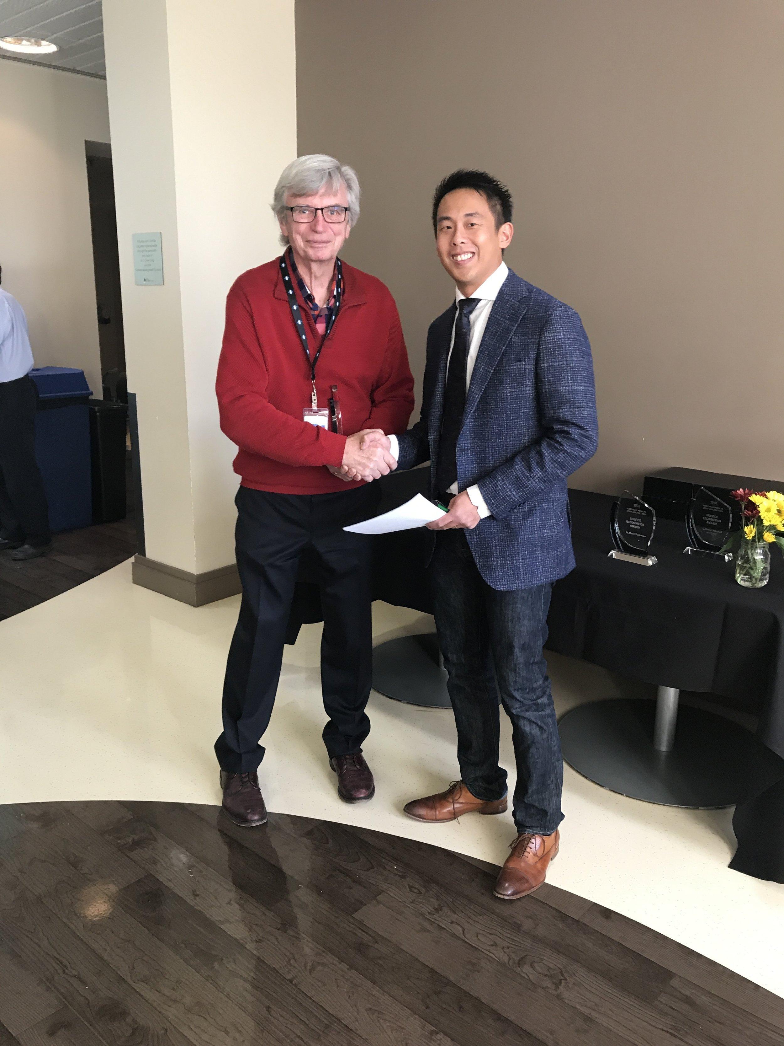 Dr. Merril Knudtson & Dr. Trevor Chan