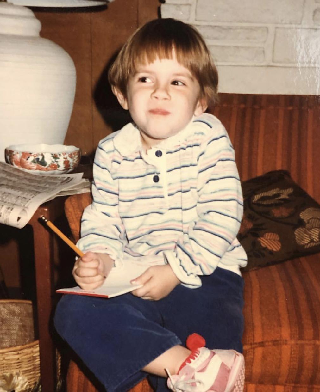 Naomi, age 4.