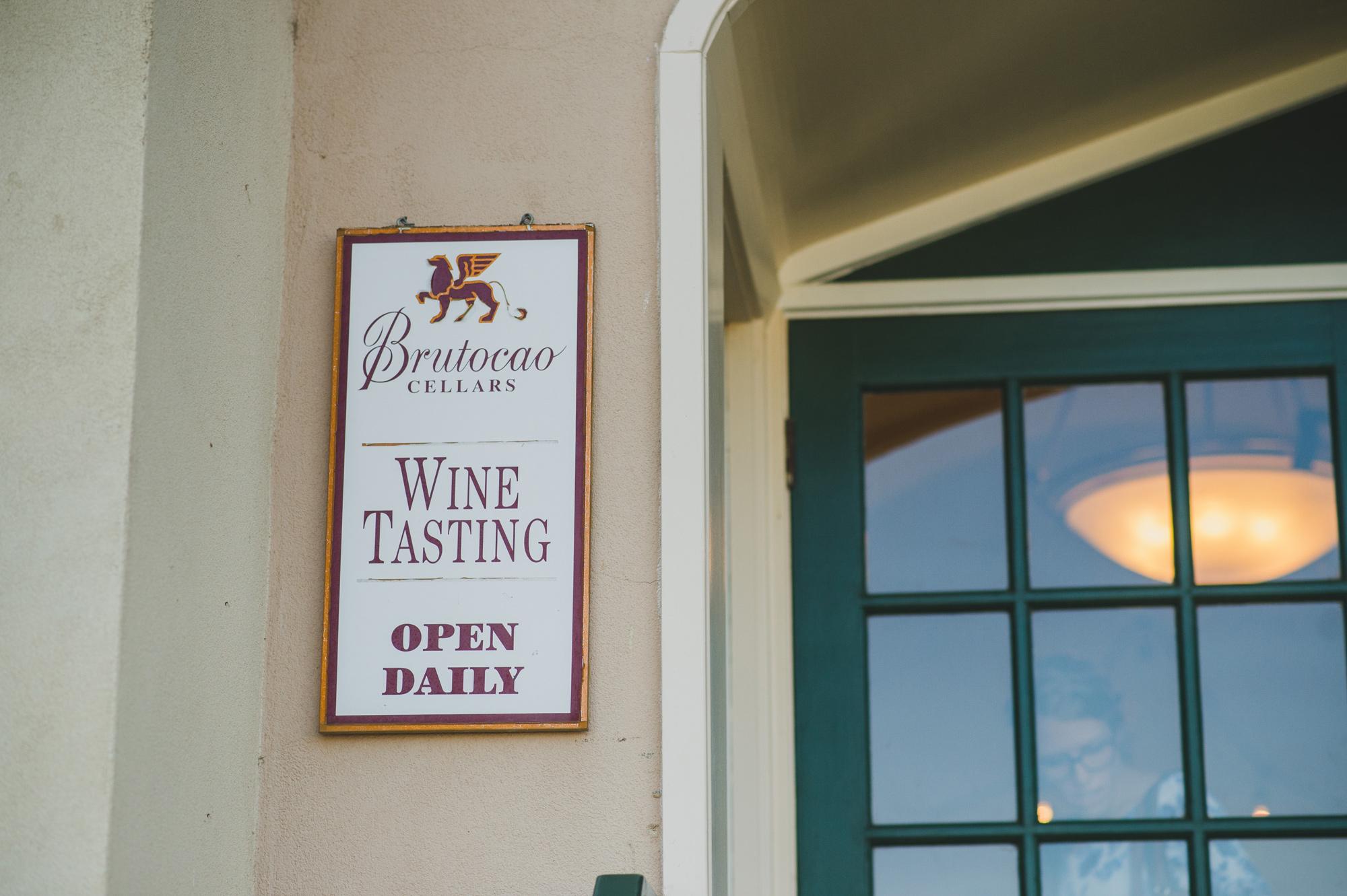 Brutocao Cellar's Hopland Tasting Room