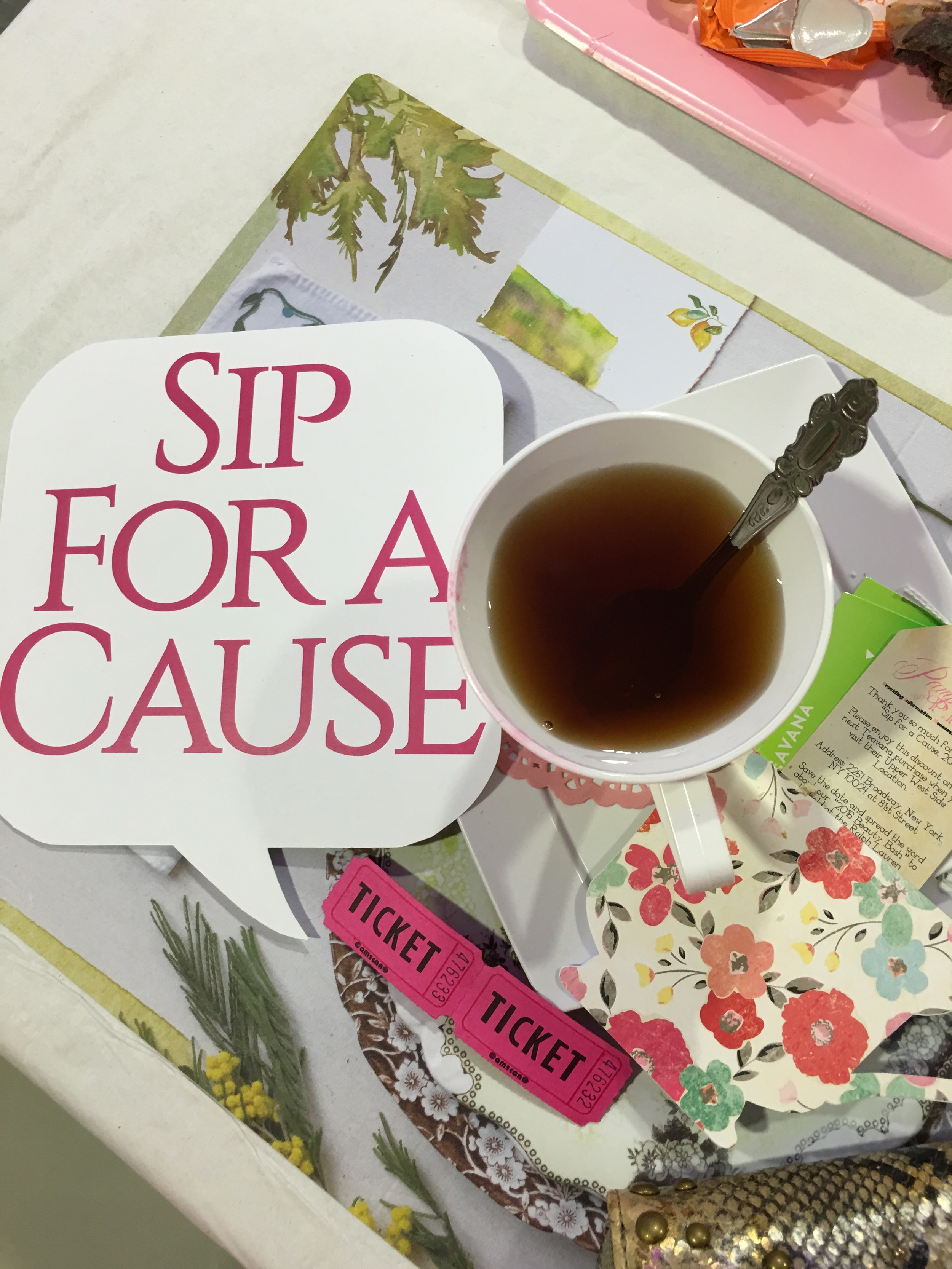 Hi Tea baby.....