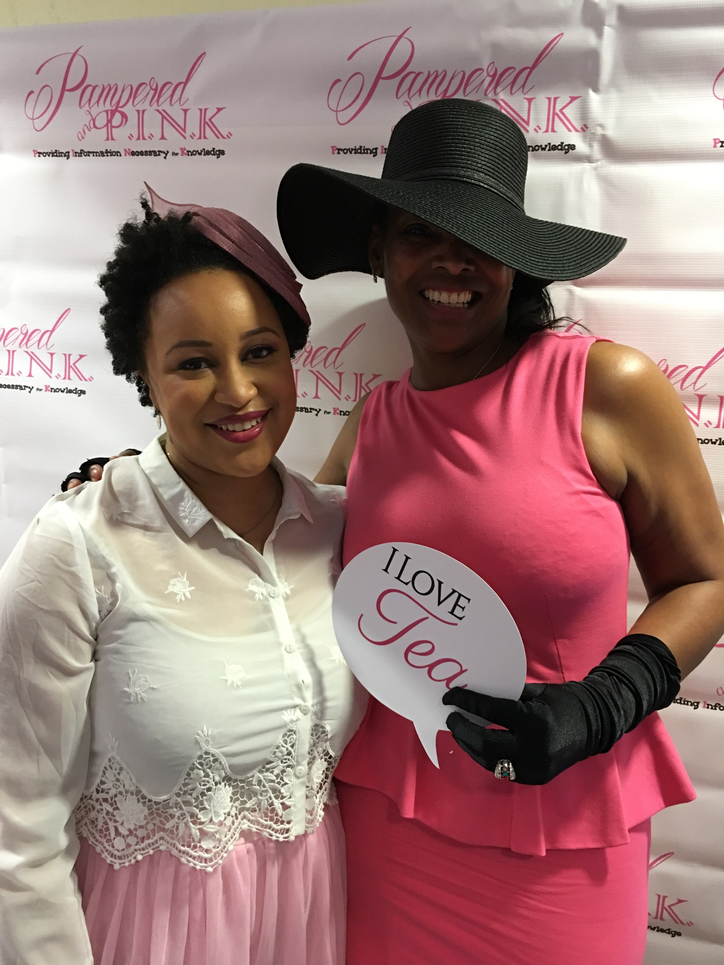 The Founder of Pampered and Pink - Amber & Me