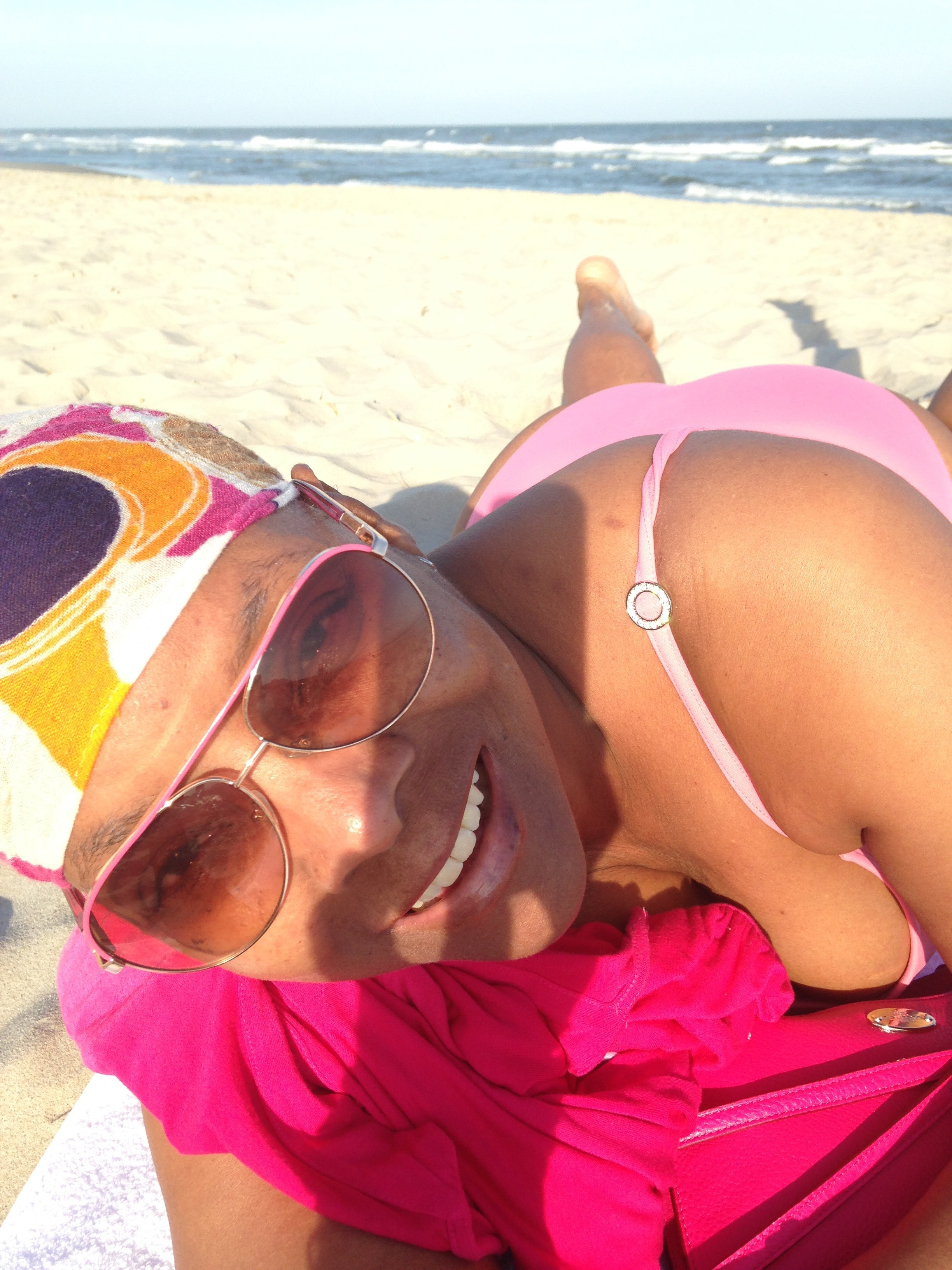 Atlantic City Memorial Day 2015. My head scarf kept me comfy & cozy on a cool day.