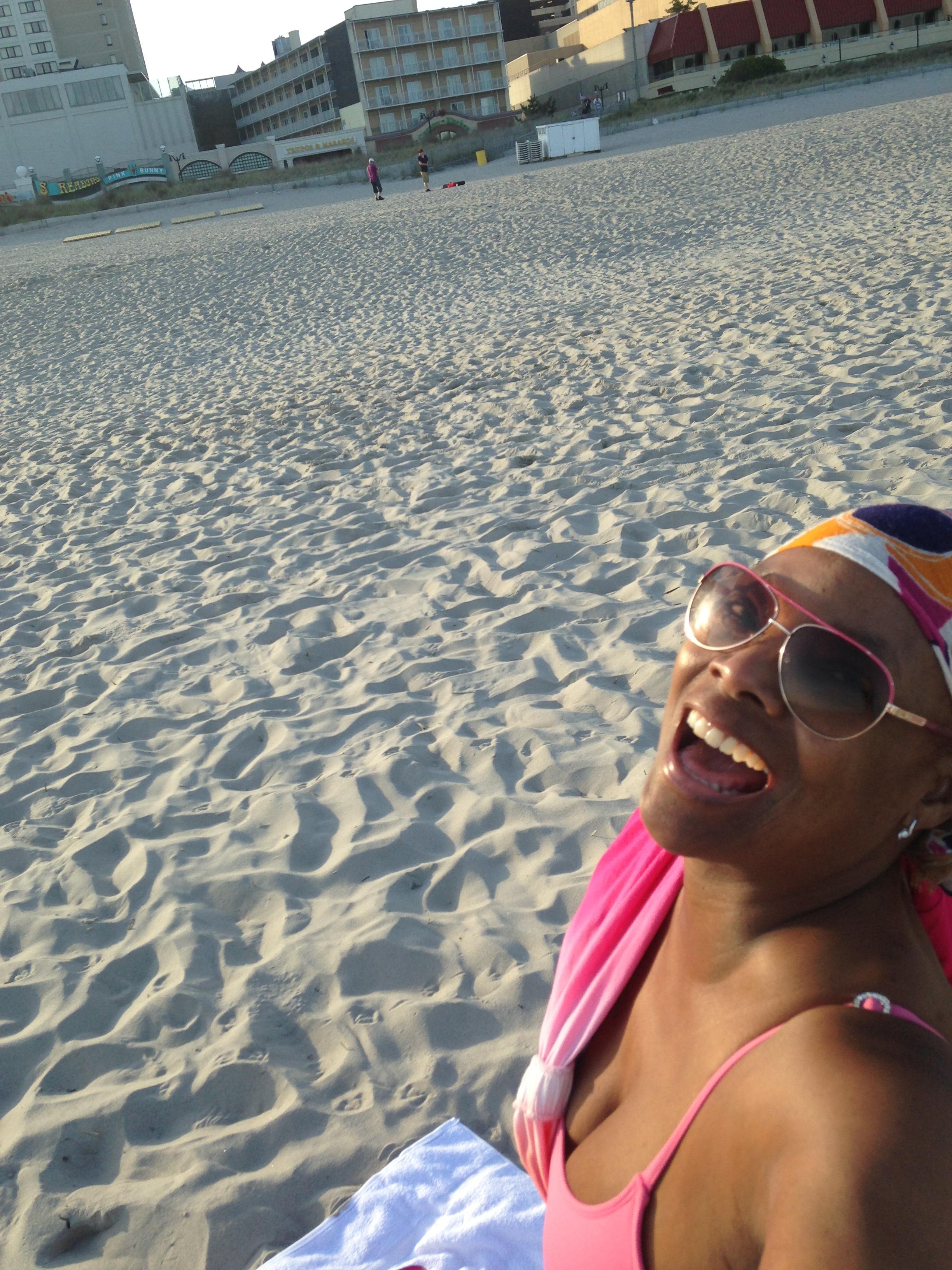 Memorial Day 2015 Evening on the Beach Atlantic City