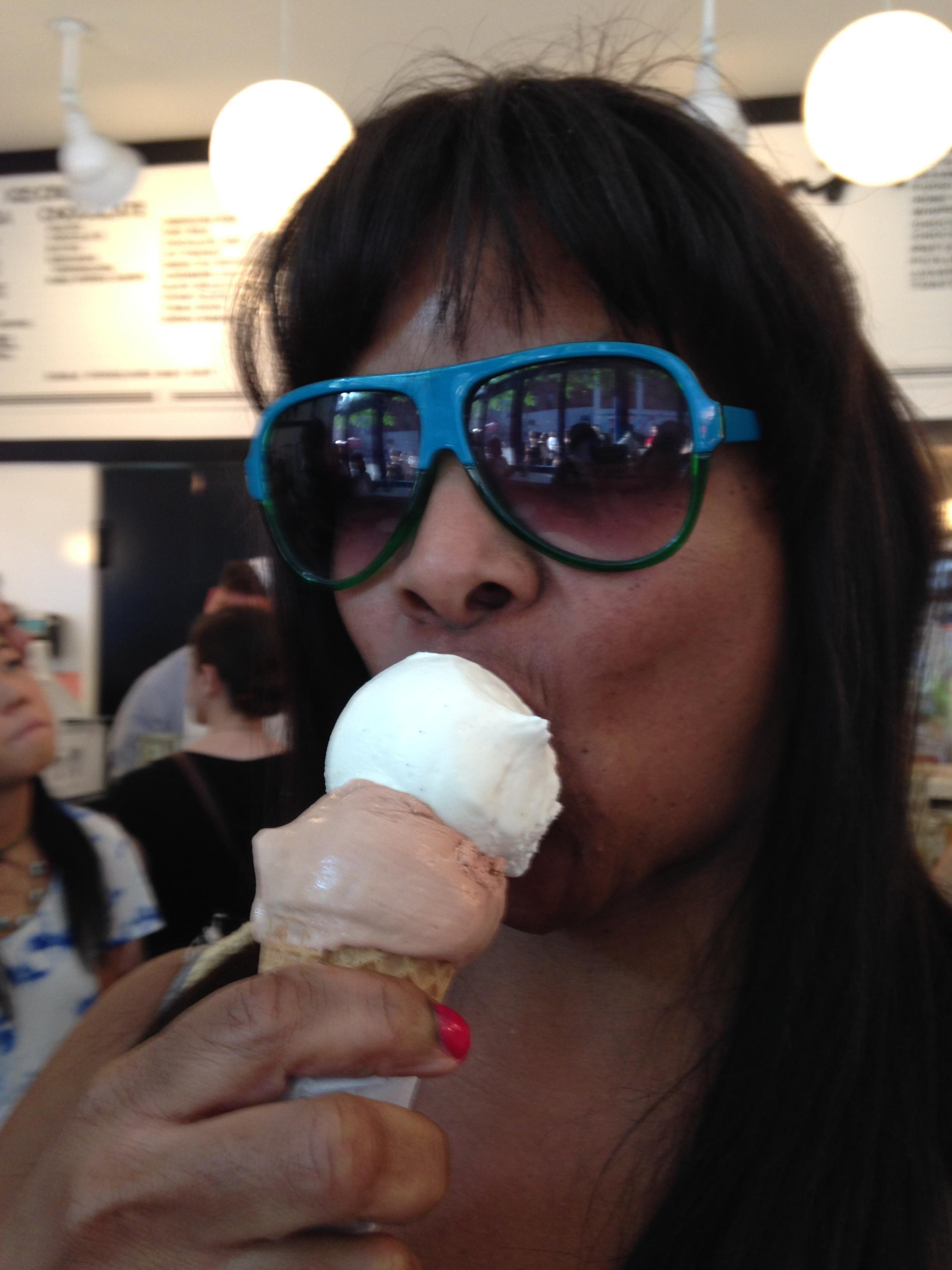 Morgenstern's Finest Ice Cream...The flavors are super rich & delicious..Summer 2015