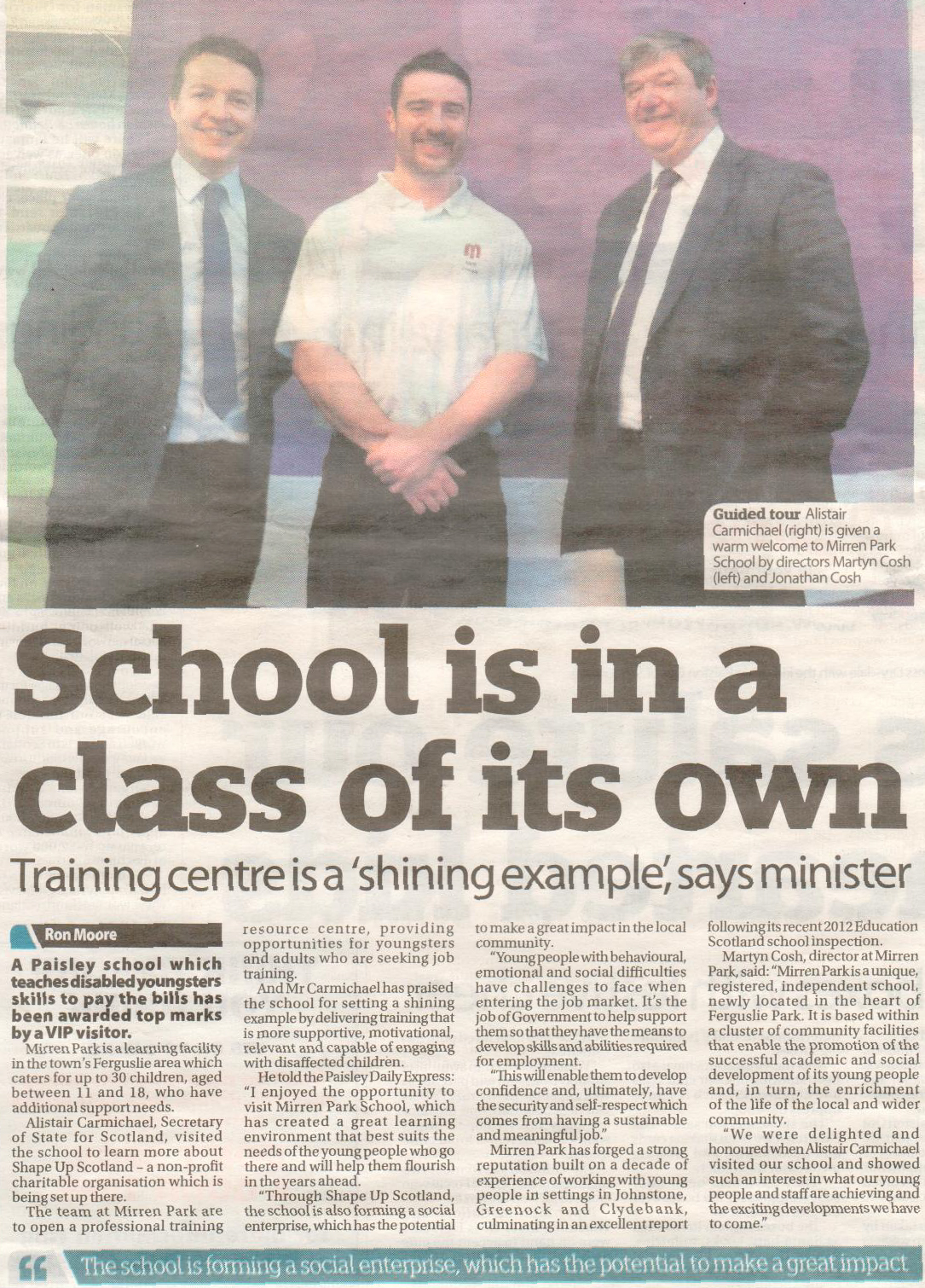 Paisley Daily Express, April 2015