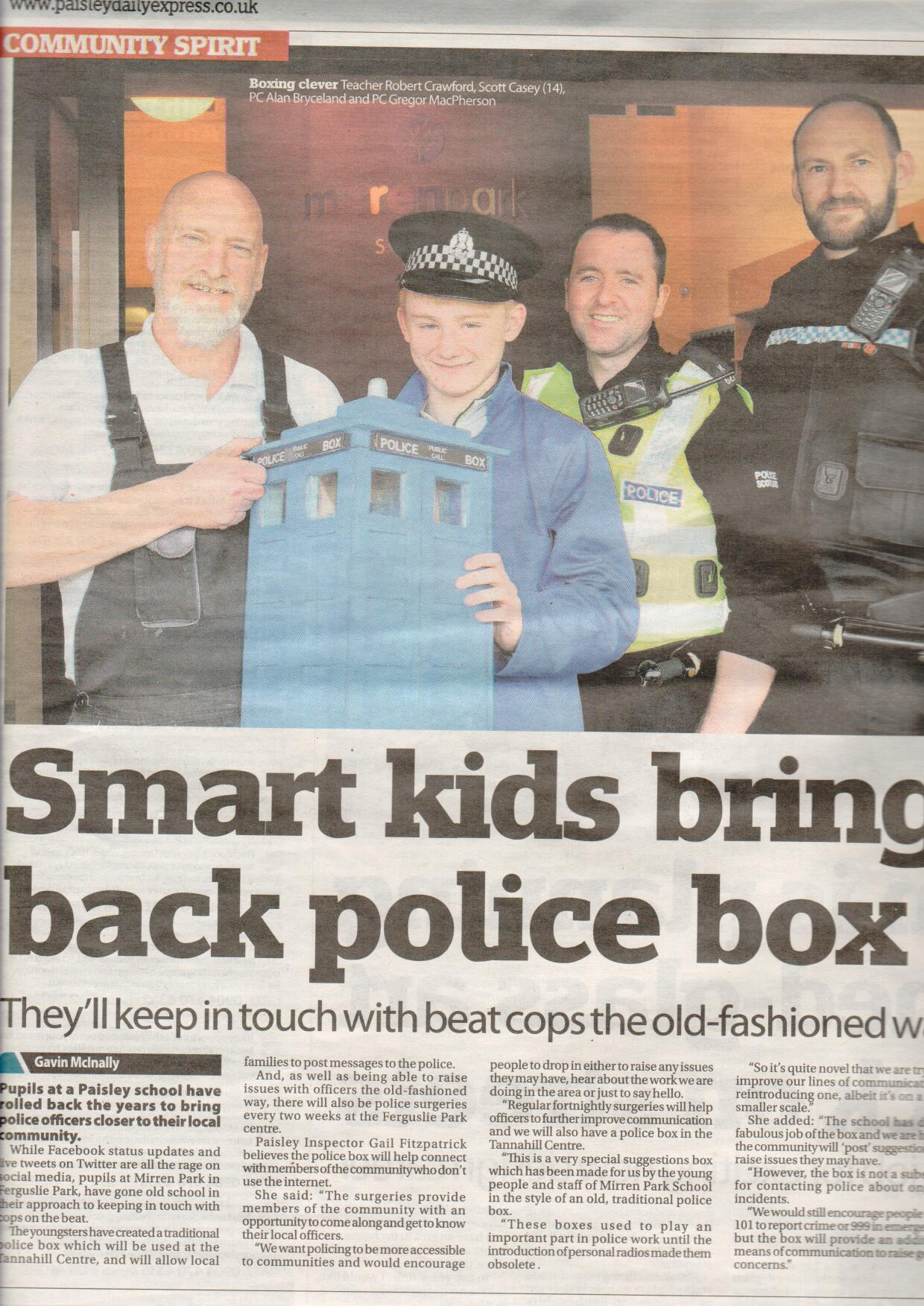 Paisley Daily Express, August 2015