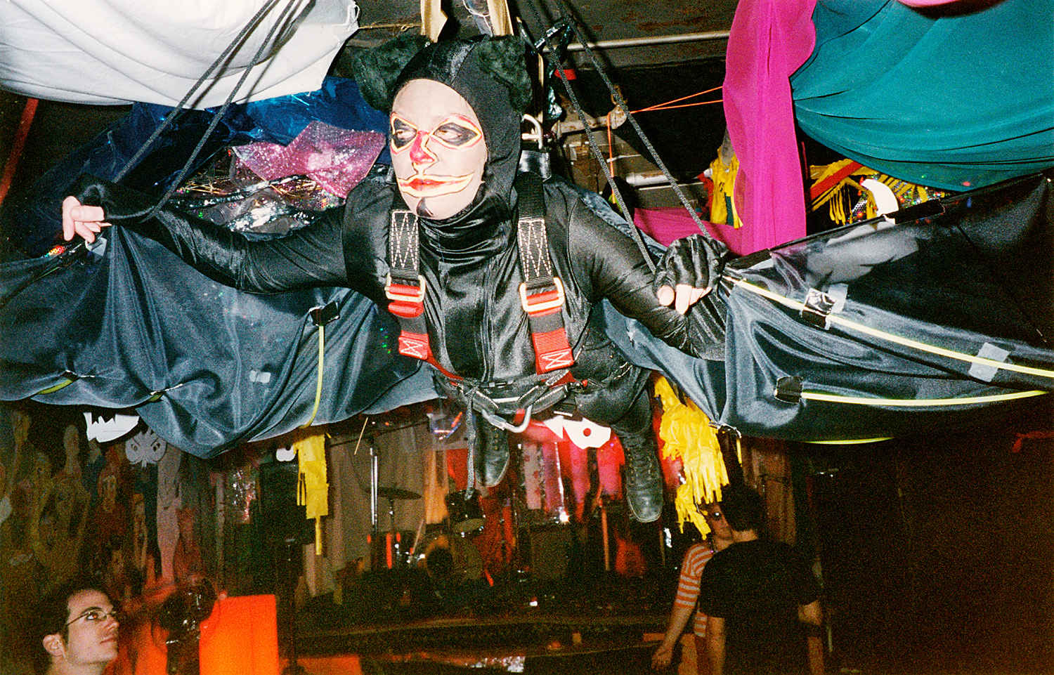 I hung from the ceiling dressed as a bat more times than I can remember.