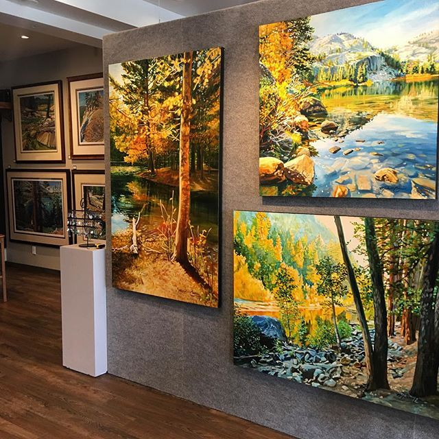 Opening reception today from 3-8 pm!! #emanategallery #laketahoe #southlaketahoe