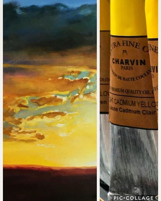 There is no other yellow better than cadmium yellow by @charvinart available at @jerrysartarama #charvin #charvinacrylics #charvinart #colorsofnature #jerrysartarama
