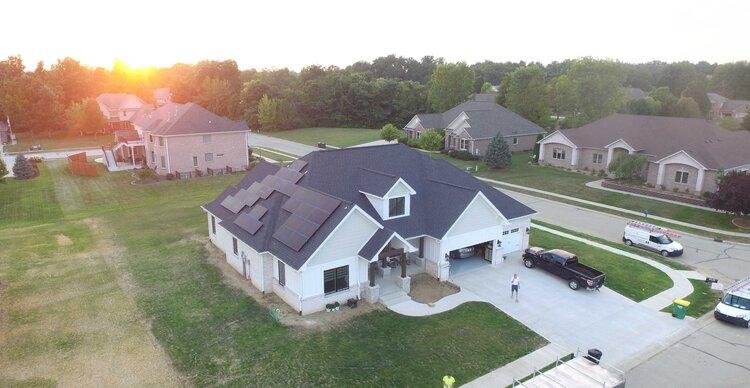 Photo: Jefferson Electric solar install. 2021