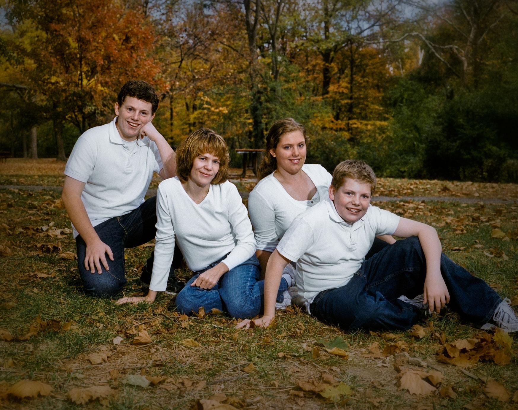 Cincinnati Ohio Family Group Portrait