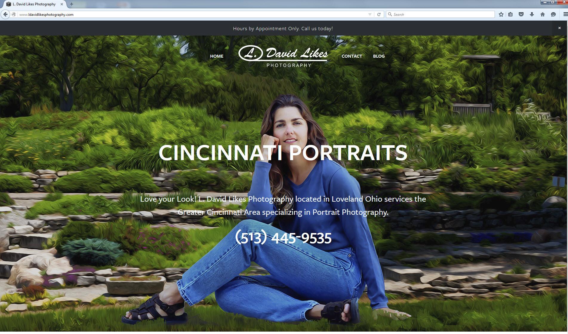 My New Responsive Website