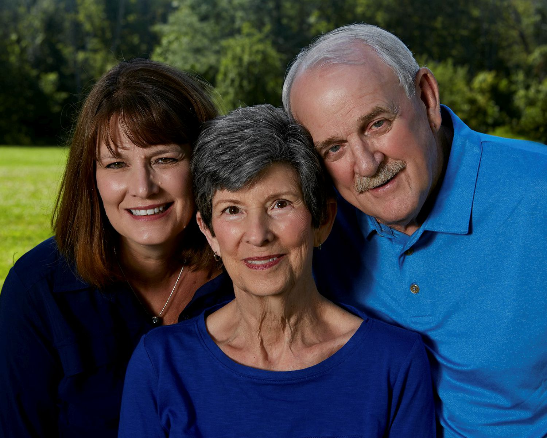 Outside Family Portrait