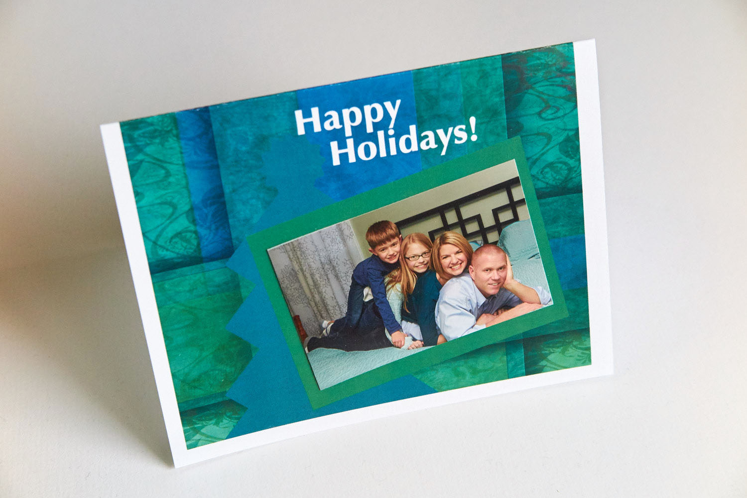 Here is a sample card with a photo attached to it