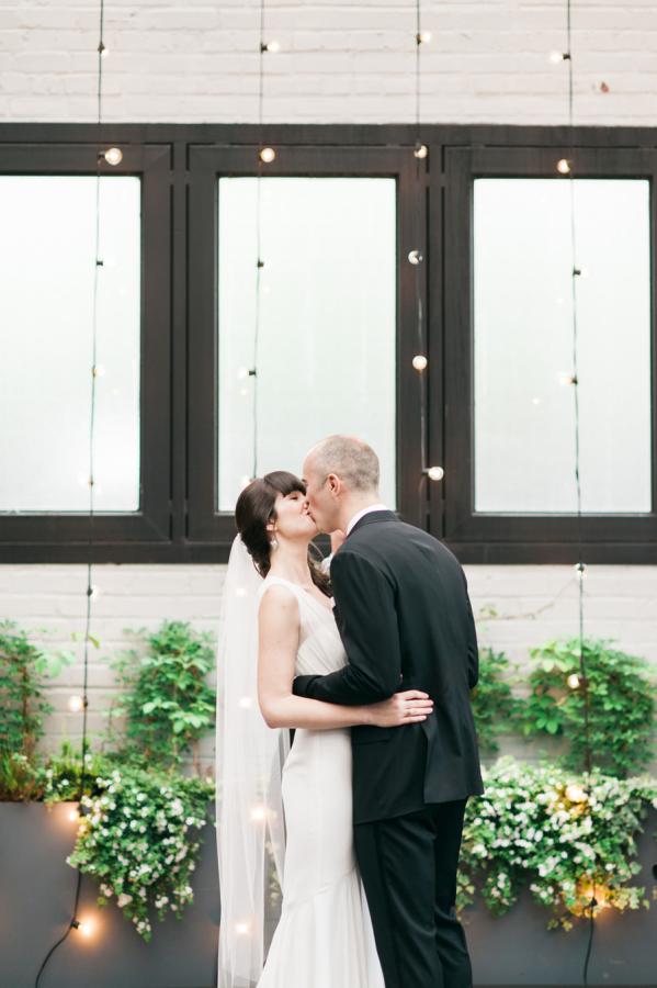 MARTHA STEWART WEDDINGS: Modern Brooklyn Wedding at 501 Union