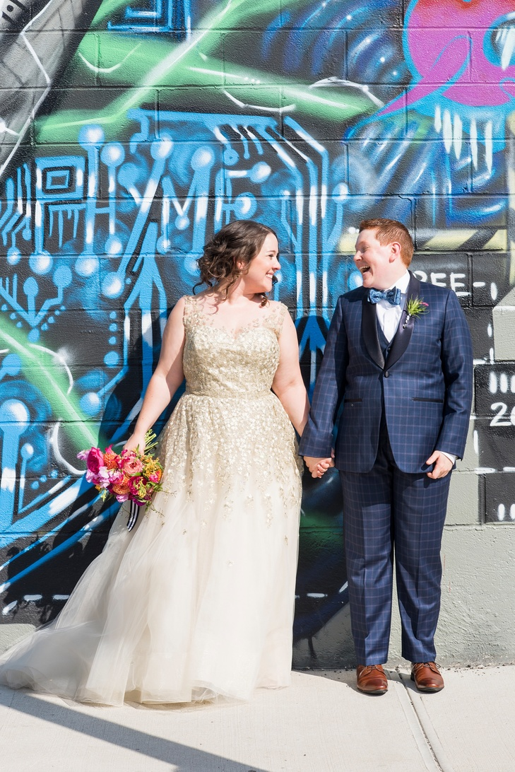 THE KNOT: A Vibrant Summer Wedding at 501 Union in Brooklyn, NY