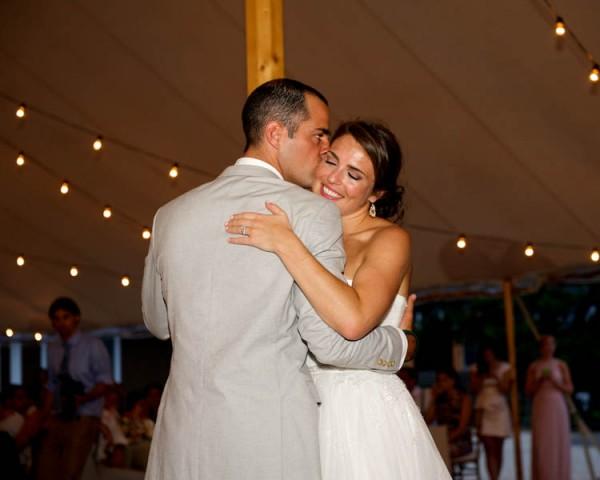 JUNEBUG WEDDINGS: Mint & Peach Wedding at Mantoloking Yacht Club