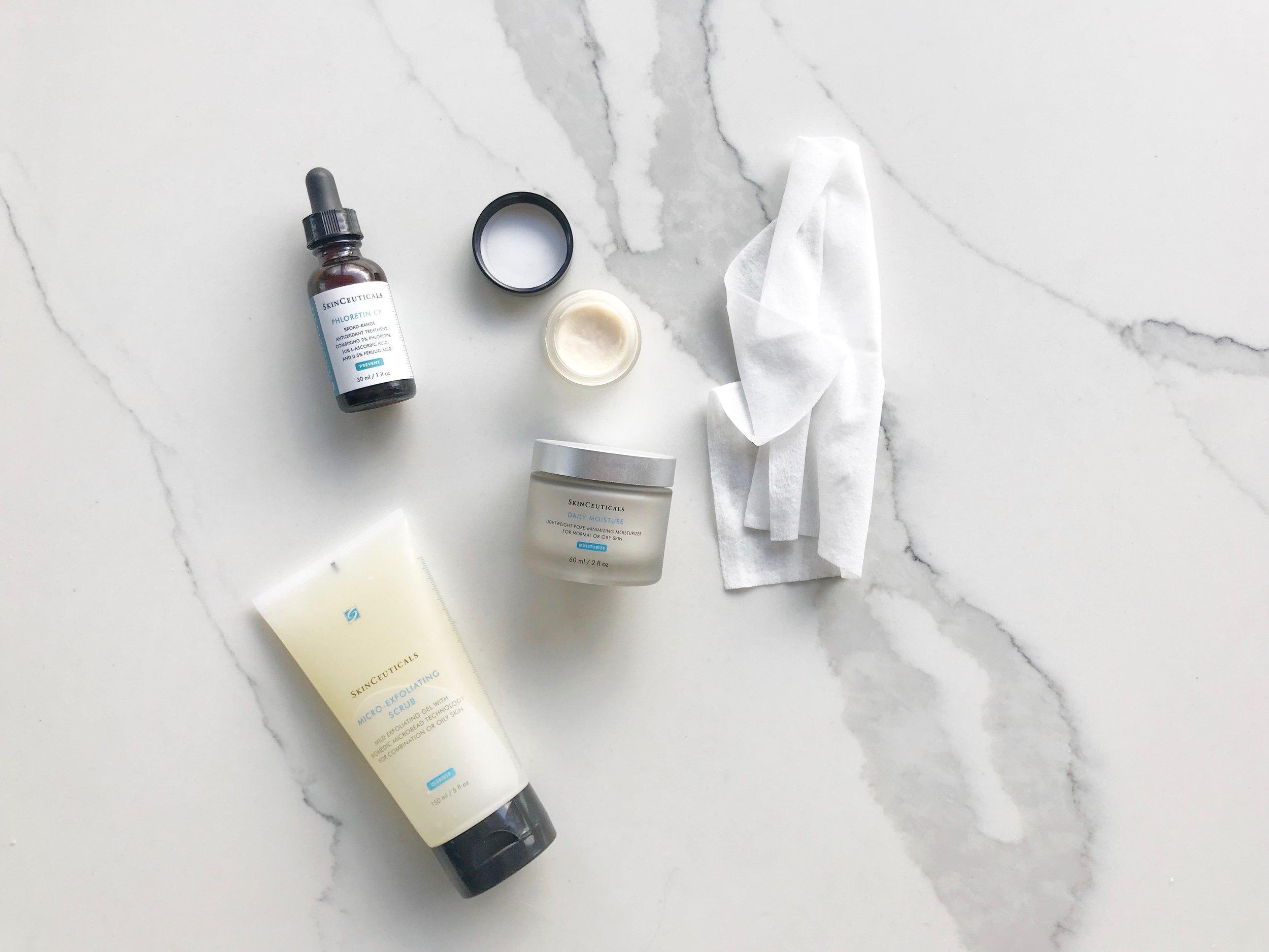Skin Care Routine - Jamie Scrimgeour - SkinCeuticals